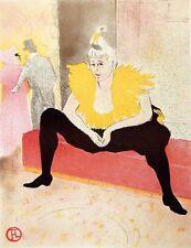 Henri de Toulouse Lautrec Museum Quality Lithograph Submit Best Offer!