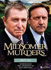 4 DVD Midsomer Murders Set 20: John Nettles Jason Hughes J Wymark Neil Dudgeon