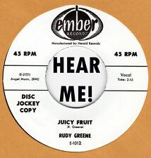 R&B REPRO: RUDY GREEN - Juicy Fruit/Wild Life EMBER
