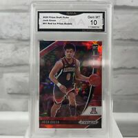 2020-21 Panini Prizm Draft Picks RED ICE Josh Green #61 RC Graded GMA 10 Gem MT