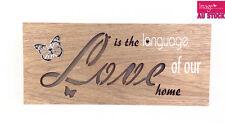 Love LED Light Up Hanging Wording Sign Home Decoration Wedding Gift GKILOV22
