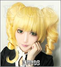 Black Butler Kuroshitsuji Elizabeth Anime Costume Cosplay Wig + Free Wig CAP