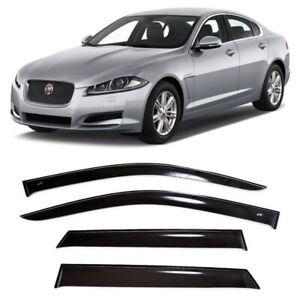 For Jaguar XF l Sd 2008-2015 Window Side Visors Sun Rain Guard Vent Deflectors