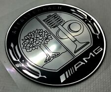 1pcs. Mercedes-Benz AMG Affalterrach Logo 3D Domed Sticker. Size 70mm.
