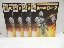 Robocop 2 Official Marvel Comic Book Magazine Movie Adaption X4 Chido Cover Art