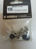 Wedico 106 2 Türschlösser komplett