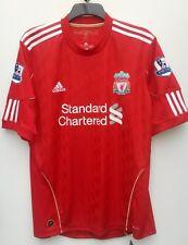 Liverpool Home shirt 2010 2012 Short Sleeve Large BNWT 9 Carroll Lextra