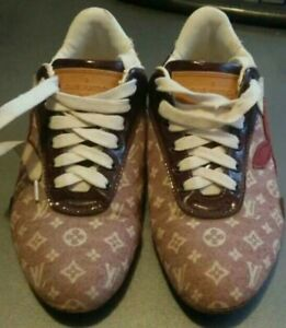 Louis Vuitton monogram flat sport shoes size EU 36 US 6 UK 4