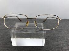 Dior Eyeglasses 65-17-180 German Gold 189/20-6050 Metal Frame Brown Arms 9178