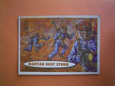 A&BC Gum 1958 Space Trade Card No 74 - MARTIAN  DUST  STORM