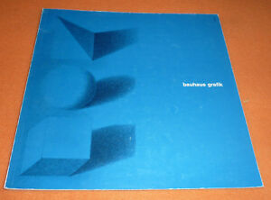 50 years Bauhaus graphic arts 1918-1968 Book Catalogue 168 pages Rare Book