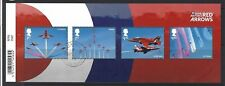 Great Britain 2018 Royal Air Force Red Arrows Miniature Sheet Fine Used