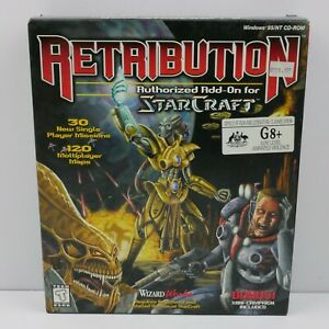 Retribution Authorized Starcraft Expansion Big Box PC | Great Condition | Add-On