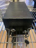 Safe Deposit Box Mountable Two-key system keyed lockbox cash drop Brand New