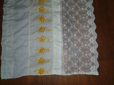 Lot(3) Vintage Crochet Lace Repurpose Reuse Upcycle Renew  Altered Couture Art