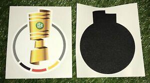 Original DFB POKAL Patch Logo Badge wie Matchworn Trikot BVB Leipzig Finale