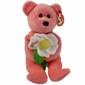TY Beanie Baby - DEARLY the Bear (Hallmark Gold Crown Exclusive) (8.5 inch) MWMT