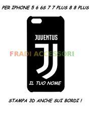 Cover personalizzata JUVENTUS custodia iphone 6 6s 6 plus 7 7 plus 8 8 plus 3D