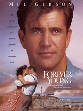 Affiche 120x160cm FOREVER YOUNG (1993) Mel Gibson, Jamie Lee Curtis NEUVE