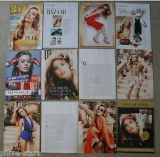 Georgia May Jagger Harpers Bazaar Magazine Clippings Model Fashion Celebrity