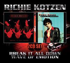 RICHIE KOTZEN  - Break It All Down/Wave Of Emotion 2CD Set (SFMTFCD019)
