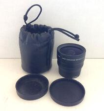 Canon 0.7x Wide Converter Lens-WC-DC52 LA-DC52C