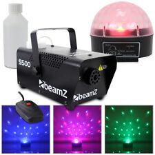 Beamz Jelly Ball Wall Wash Effect LED Light Disco DJ Lighting + Smoke Machine