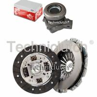 NATIONWIDE 2 PART CLUTCH KIT AND FTE CSC FOR VAUXHALL VECTRA BERLINA 1.6I 16V