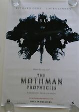 THE MOTHMAN PROPHECIES 27X40 DS MOVIE POSTER ONE SHEET NEW AUTHENTIC