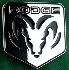 "Belt Buckle ""DODGE"" Ram Trucks, 3.8cm Wide Belt, DIY, Custom, Metal Casting."