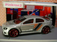 2018 NIGHTBURNERZ 2008 MITSUBISHI LANCER EVOLUTION X☆gray; j5☆LOOSE Hot Wheels