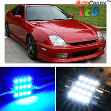 6 x Premium Blue LED Lights Interior Package Kit for Honda Prelude 97-01 + Tool