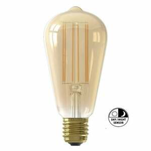 Calex Rustic Lamp with Day Night Sensor Vintage Filament E27 4w LED Lamp