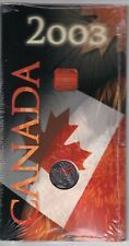 Monix Canada Day 2003 Coloured 25 cents UNC in original holder sealed CV$18