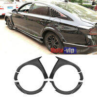 Unpainted For Honda Accord 2018 2019 Fender Flare Kit Wheel Arch Cover Trim 8PCS