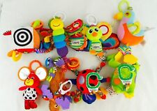 Lot of 8 Lamaze Kids Perferred Plush Hanging Baby Toys