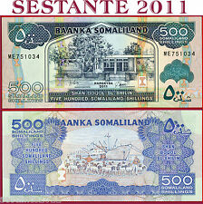 SOMALILAND  -  500 SHILLINGS 2011  -  P 6h   -  FDS / UNC