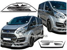 RS35 Ford transit custom vinyl racing stripes m sport style kit decal graphic