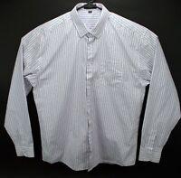Paul Smith London men's red white blue button shirt XL  size 44  180/108A
