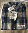 J.Crew Women's Size M SOFT Boyfriend Fit Light-Weight Plaid Flannel Shirt Cotton