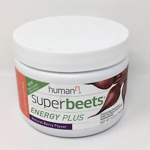 HumanN SuperBeets Energy Plus, Grape Seed Extract | Natural Berry Flavor, 5.87oz