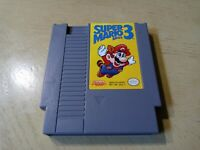 Super Mario Bros. 3 (Nintendo Entertainment System, 1990) NES Authentic