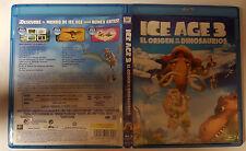 PELICULA BLURAY ICE AGE 3 EL ORIGEN DE LOS DINOSAURIOS