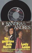 """7""""  Sandra & Andres – So Geht Das Jede Nacht"""