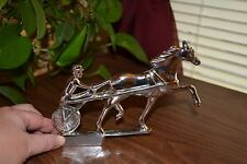 Collectible Metal Horse/Driver- Hood Ornament?