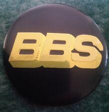 4 x Wheel Center Hub Cap replacement Badge Sticker 56mm BBS gold black