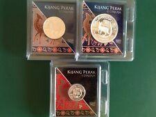 Malaysia Nubex Kijang Silver Medallion COA 268/3000