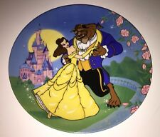 Beauty And The Beast Disney Porcelain Collector Plate