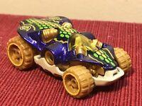 Hot wheels swamp buggy 2008  purple gold green die cast car toy