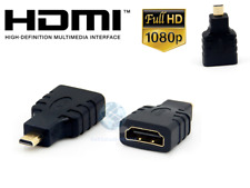 ADATTATORE CONNETTORE HDMI FEMMINA A MICRO HDMI MASCHIO FULL HD PER TABLET PC TV